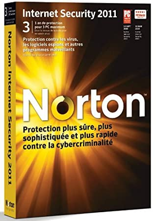 Norton internet security 2011 (3 postes, 1 an)