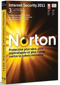 Norton internet security 2011 (3 postes, 1 an)