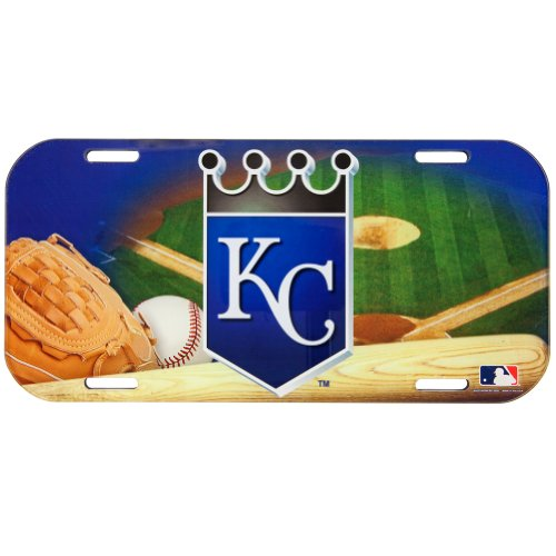 Kansas City Royals - Field High Def Acrylic License Plate at Amazon.com