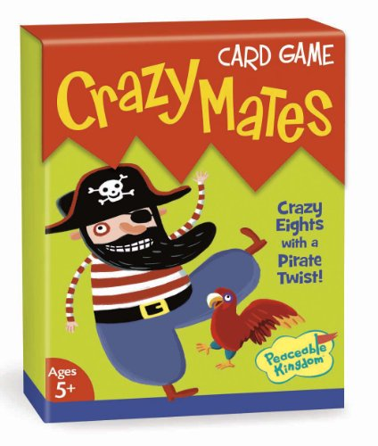 Peaceable Kingdom / Crazy Mates Card Game front-688382