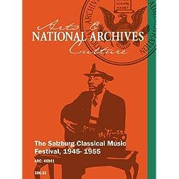 The Salzburg Classical Music Festival, 1945- 1955