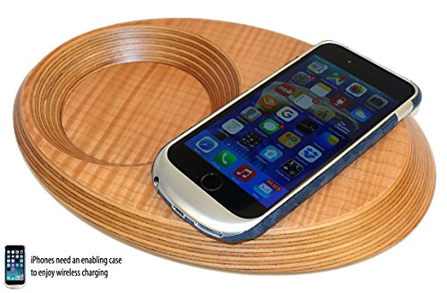Pond Wireless Charging Valet Tray for Qi Capable Phones ...