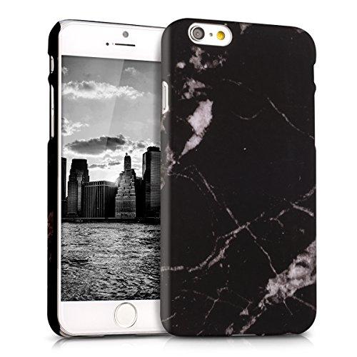 kwmobile-etui-rigide-motif-marbre-pour-apple-iphone-6-6s-en-noir