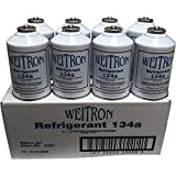 One Case - 12 Cans of R134A Refrigerant for Automotive Systems