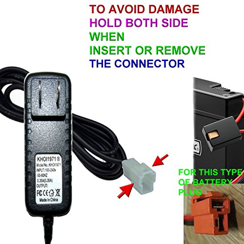 Khoi1971 174 Wall Charger Ac Adapter For Kid Trax Disney 6v