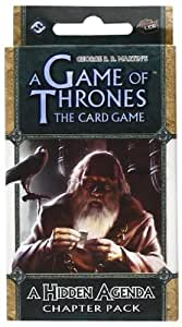 Game Of Thrones - 330936 - Jeu De Cartes - A Hidden Agenda Chapter