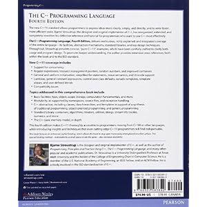 The C++ Programming Langu Livre en Ligne - Telecharger Ebook