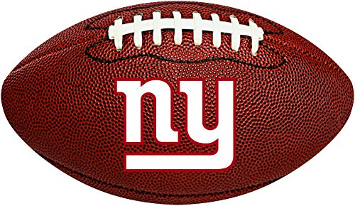 Creative Converting New York Giants Football-Shaped Decorative Logo Cutout