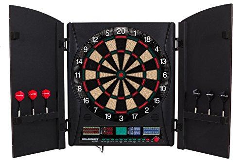 Best Deals! Marauder 5.0 Electronic Dartboard Cabinet Set