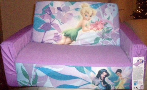 Groovy Best Price Disney Fairies Tinker Bell Pull Out Slumber Bed Unemploymentrelief Wooden Chair Designs For Living Room Unemploymentrelieforg