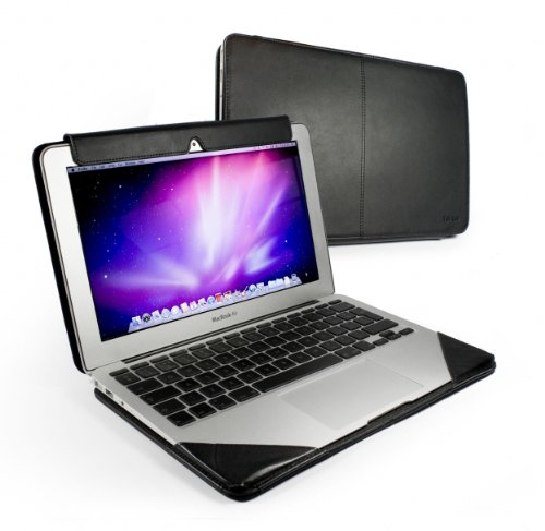 Tuff-Luv Slim-Line Leather Case Cover for Apple MacBook Air (11