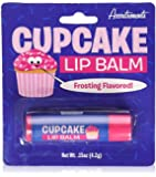 Cupcake Lip Balm Frosting Dessert Flavored Scented Novelty Gift