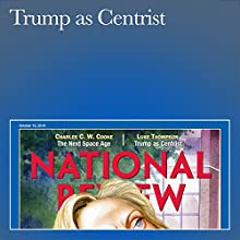 Trump as Centrist Periodical by Luke Thompson Narrated by Mark Ashby