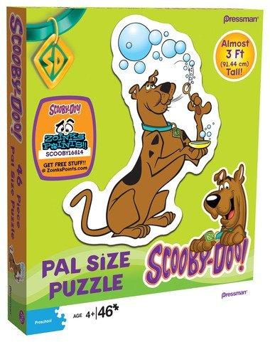 Cheap Pressman Toy Scooby-doo! Pal Size 46 Piece Puzzle – Scooby Blowing Bubbles (B0049L2JKA)
