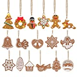 FENICAL Christmas Tree Ornaments Tiere Hand Schneeflocke...