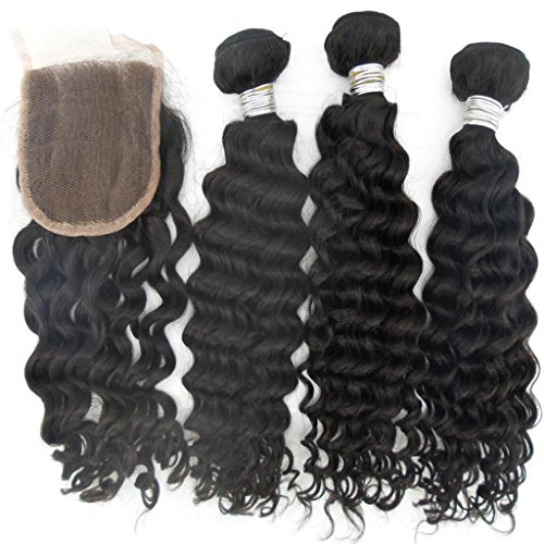 Vedar-Beauty-3-Bundles-1-Closure-6A-Grade-Deep-Wave-Cheap-Unprocessed-Malaysian-Hair-Weave