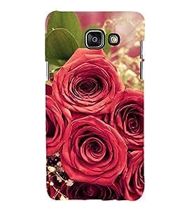 99Sublimation Lot Of Red Rose 3D Hard Polycarbonate Designer Back Case Cover for Samsung Phones