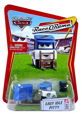 Disney / Pixar CARS Movie 1:55 Die Cast Car Series 4 Race-O-Rama Easy Idle Pitty