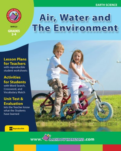 Air, Water And The Environment Gr. 2-4 front-144944