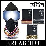 eb's / エビス TUBE MASK フェイスマスク ネックウォーマー スノーボード LEOPARD