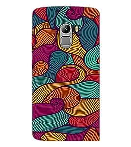 PrintDhaba Pattern D-2061 Back Case Cover for LENOVO VIBE X3 LITE (Multi-Coloured)