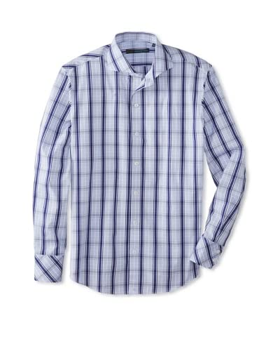 Zachary Prell Men's Brenton Checked Long Sleeve Shirt