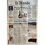 MONDE (LE) [No 18302] du 29/11/2003 - UNION EUROPEENNE - MARIO MONTI (PHOTO) VEUT INFLIGER UNE SANCTION DE 1 MILLIARD...