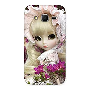 Delighted Angel Look Doll Back Case Cover for Galaxy Core Prime