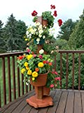 5 Planter Vertical Gardening System Finish: Terracotta