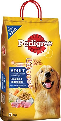 Pedigree Adult Chicken And Veg, 6 Kg