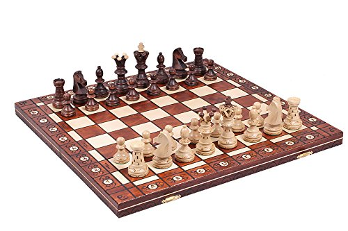 The Jarilo - Unique Wood Chess Set, Pieces, Chessboard & Storage 2