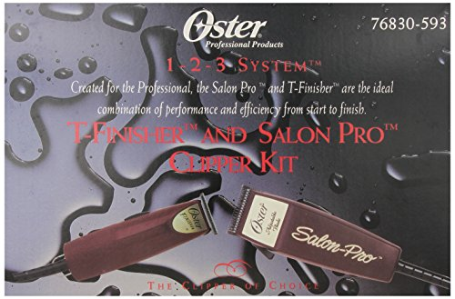 oster-1-2-3-system-t-finisher-and-salon-pro-clipper-kit-us-110-voltage-outlet-required