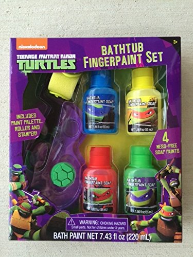 Teenage Mutant Ninja Turtles Bathtub Fingerpaint Set