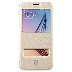 BASEUS PRIMARY COLOR CASE FOR SAMSUNG S6 (GOLD)