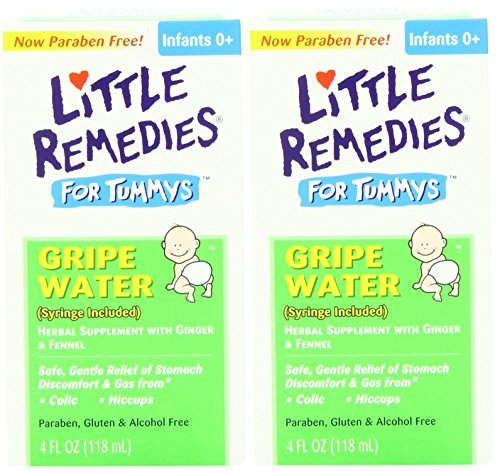 Little Remedies Tummys Gripe Water, 4 Fluid Ounce, Pack of 2 (Little Remedies Gas Drops Infants compare prices)