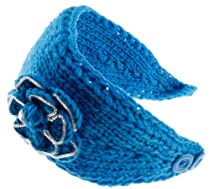 8829-5 NY Deal Knit Winter Headband Ear Warmer, Blue