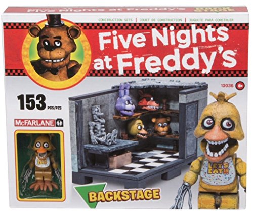 FIVE NIGHTS AT FREDDY'S - Cinque notti al Construction Set Backstage di Freddy