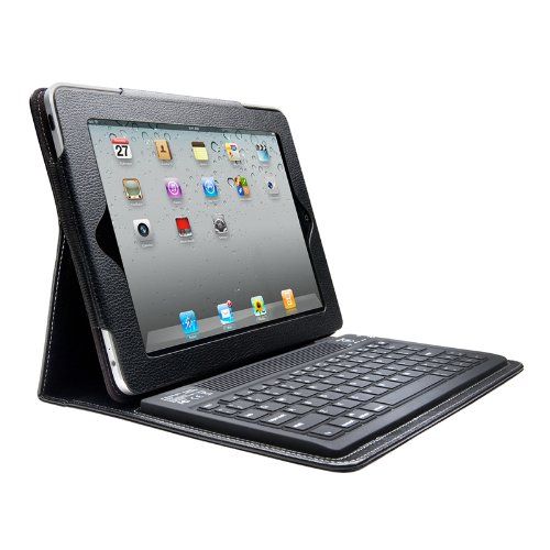 Kensington 2nd Generation KeyFolio Bluetooth Keyboard and Case for Apple iPad 2