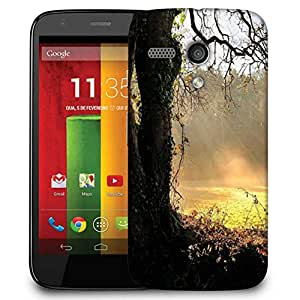 Snoogg Small Garden In Forest Designer Protective Phone Back Case Cover For Motorola G / Moto G
