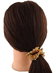 Anuradha Art Rust Colour Adorable Stylish Hair Accessories Hair Band Stylish Rubber Band For Women/Girls