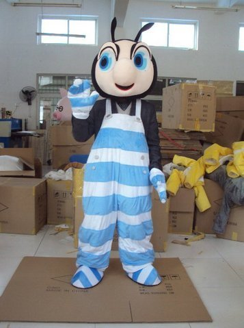 The Little Ant Cartoon Character Costume Cosplay Mascot Custom Products Custom-madeS.M.L Free ()