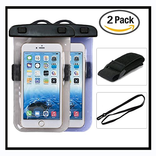 Dsoso waterproof case Cell Phone Dry Bag with Armband for Apple iPhone 6S 6,6S Plus, SE 5S 7, Samsung Galaxy , HTC LG Sony Nokia Motorola Fits Screens up to 5.5