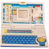 Homeshopeez Kids English Learner Laptop-BL(Multicolor)