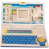 Homeshopeez Kids English Learner Laptop-BL(Multicolor)
