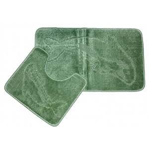 2 dolphin green bathroom bath mat