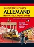 Grand Dictionnaire Allemand Hachette...