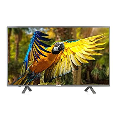 Hyundai HY4382Q4Z-A/Z 108cm (43 inches) 4K Ultra HD Smart LED TV, Metallic Black