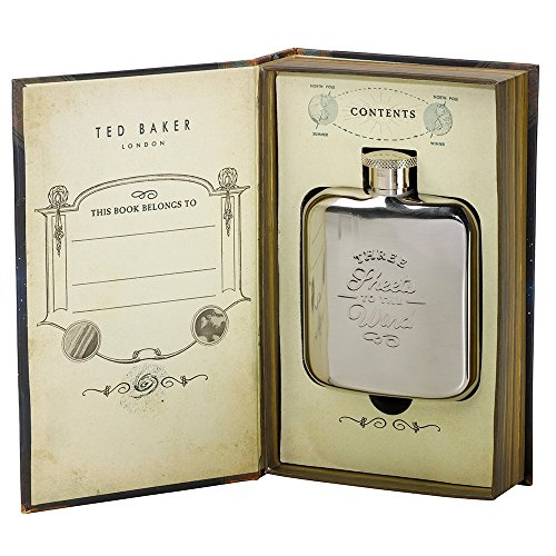 Ted Baker Three Sheets to the Wind Hip Flask (Ted Football compare prices)