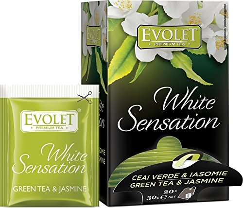 White Sensation - Premium Green Tea And Jasmine (20 Tea Bags X 30G)