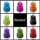 Gonex 超軽量リュックサック 折りたたみ 8色選択可能